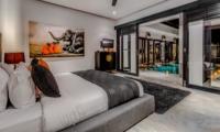 Bedroom with Pool View - Villa Jepun Residence - Seminyak, Bali