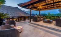 Up Stairs Lounge - Villa Jepun Residence - Seminyak, Bali