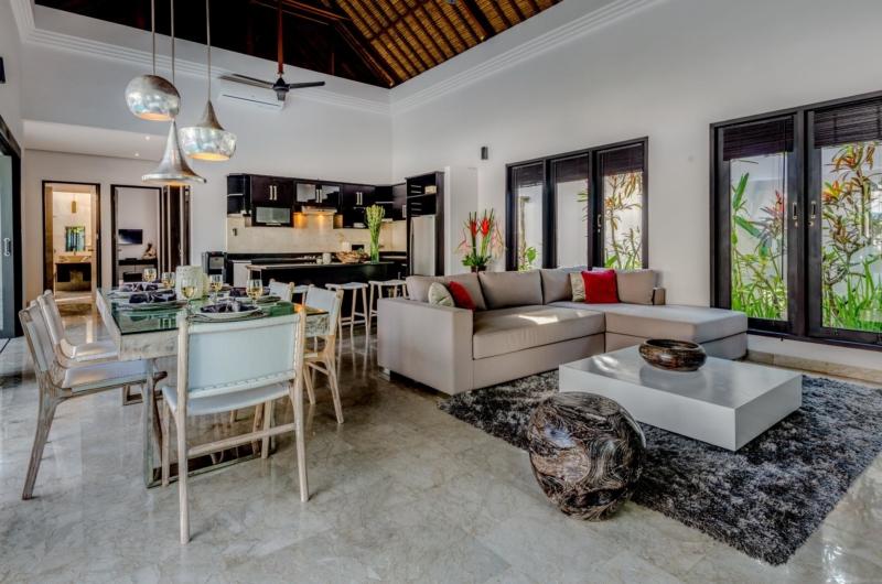 Living and Dining Area - Villa Jepun Residence - Seminyak, Bali