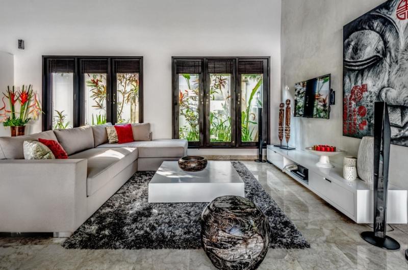 Living Area with TV - Villa Jepun Residence - Seminyak, Bali