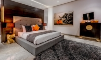 Bedroom with TV - Villa Jepun Residence - Seminyak, Bali