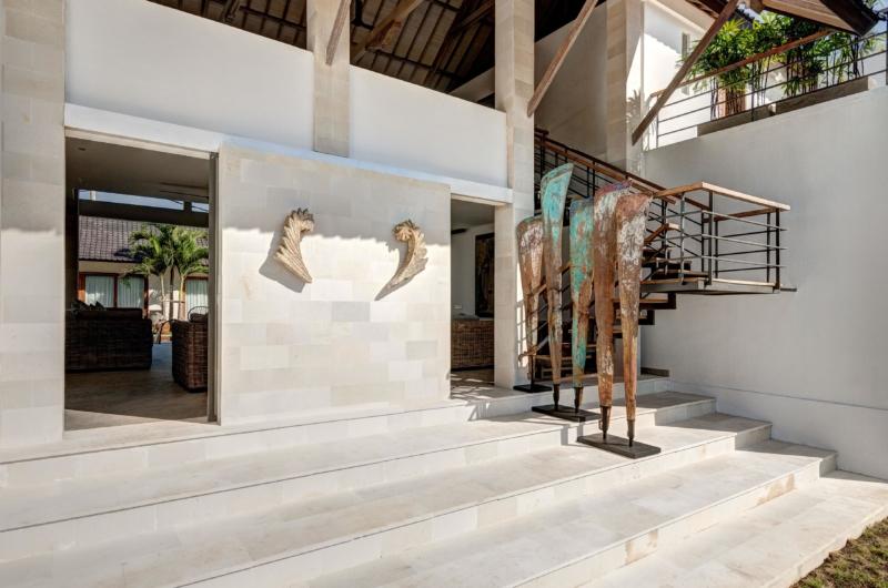 Way to Living Room - Villa Kadek - Seminyak, Bali