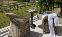 Outdoor Seating Area - Villa Kadek - Seminyak, Bali