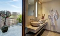 His and Hers Bathroom - Villa Kadek - Seminyak, Bali