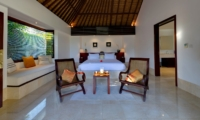 Bedroom with Seating Area - Villa Kailasha - Tabanan, Bali