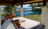 Pool Bale with Sea View - Villa Kailasha - Tabanan, Bali