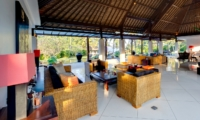 Living and Dining Area - Villa Kailasha - Tabanan, Bali