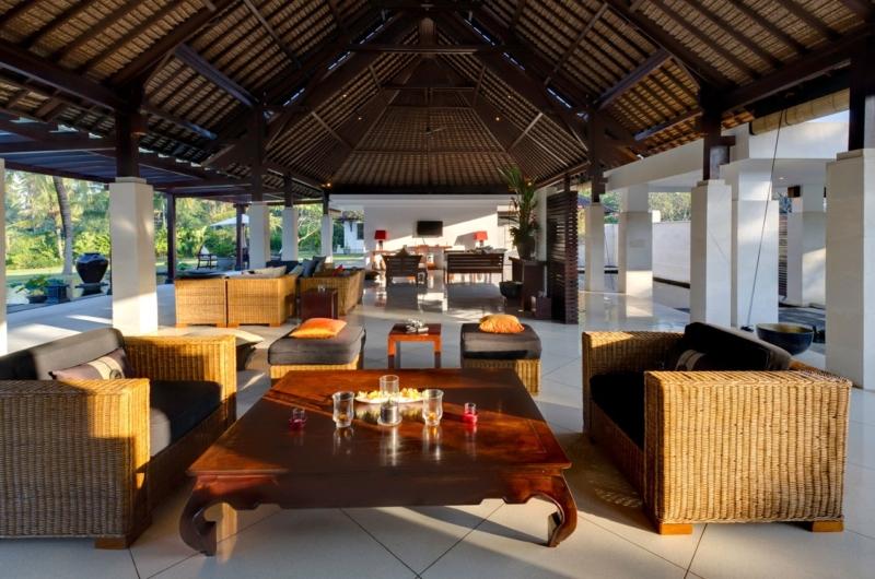 Living Area - Villa Kailasha - Tabanan, Bali
