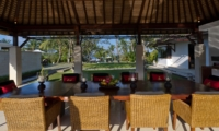 Dining Area with View - Villa Kailasha - Tabanan, Bali