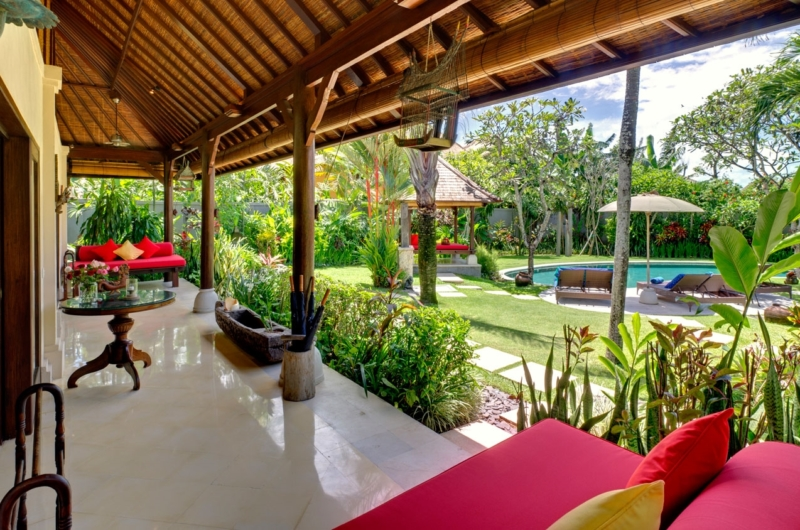 Seating Area - Villa Kakatua - Canggu, Bali