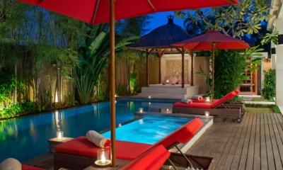 Night View - Villa Kalimaya Four - Seminyak, Bali