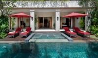 Pool Side Loungers - Villa Kalimaya Four - Seminyak, Bali