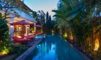Pool Side - Villa Kalimaya Four - Seminyak, Bali