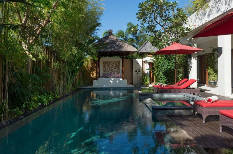 Reclining Sun Loungers - Villa Kalimaya Four - Seminyak, Bali