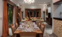 Dining Area - Villa Kalimaya Four - Seminyak, Bali