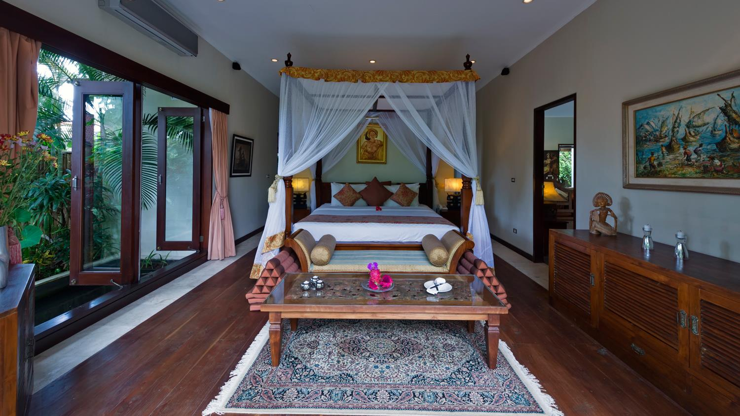 Bedroom with Seating Area - Villa Kalimaya One - Seminyak, Bali