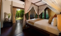 Bedroom with Wooden Floor - Villa Kalimaya One - Seminyak, Bali
