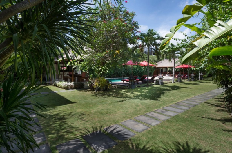 Gardens and Pool at Day Time - Villa Kalimaya One - Seminyak, Bali