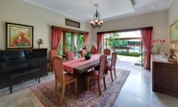 Dining Area with Pool View - Villa Kalimaya One - Seminyak, Bali