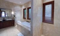 His and Hers Bathroom - Villa Kalimaya Three - Seminyak, Bali