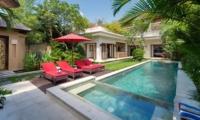 Reclining Sun Loungers - Villa Kalimaya Three - Seminyak, Bali