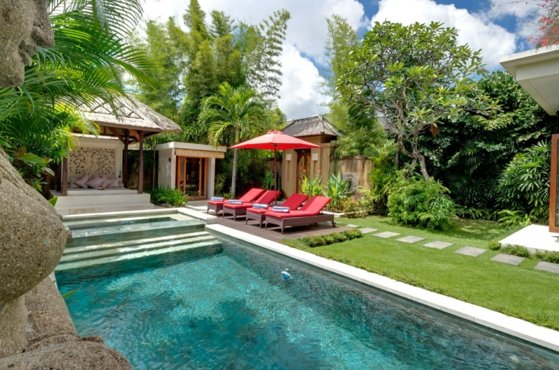 Pool Side Statue - Villa Kalimaya Three - Seminyak, Bali