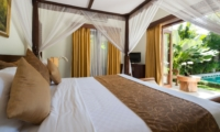 Four Poster Bed with Pool View - Villa Kalimaya Three - Seminyak, Bali