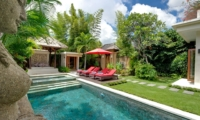 Reclining Sun Loungers - Villa Kalimaya Two - Seminyak, Bali