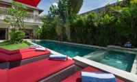 Pool Side - Villa Kalimaya Two - Seminyak, Bali