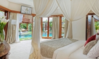 Spacious Bedroom with Pool View - Villa Kalimaya Two - Seminyak, Bali