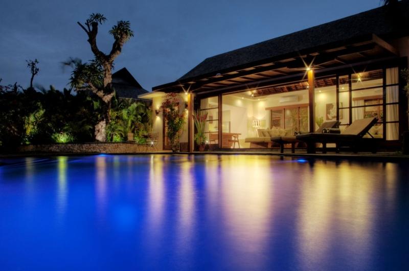 Night View - Villa Kalimaya Two - Seminyak, Bali