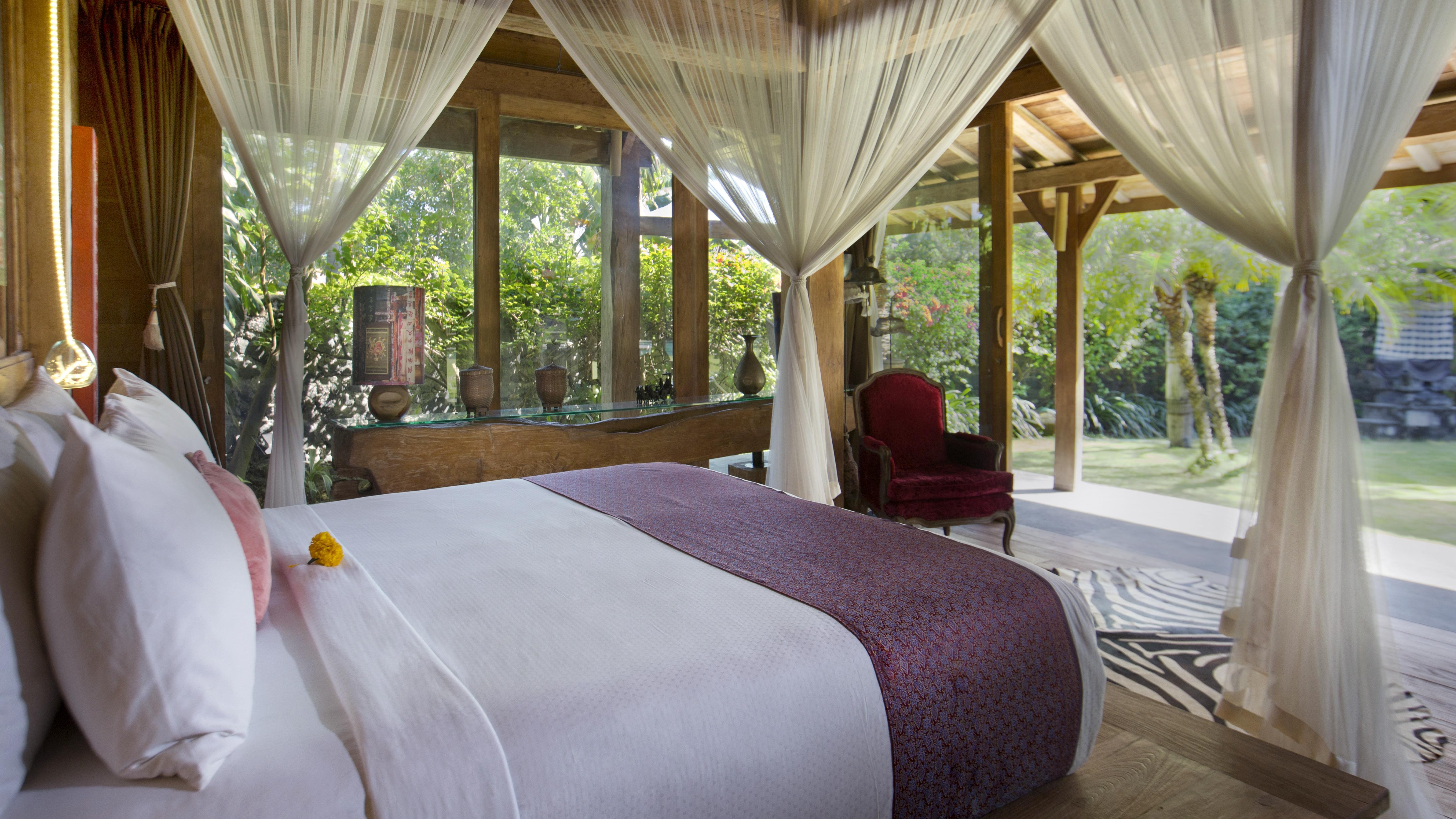 Bedroom with View - Villa Kalua - Umalas, Bali