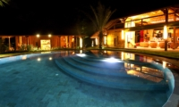 Pool at Night - Villa Kalua - Umalas, Bali