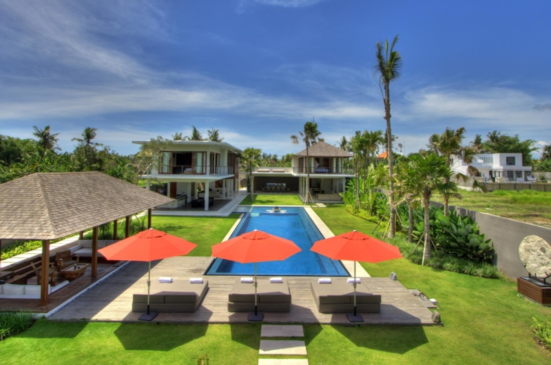 Gardens and Pool - Villa Kalyani - Canggu, Bali