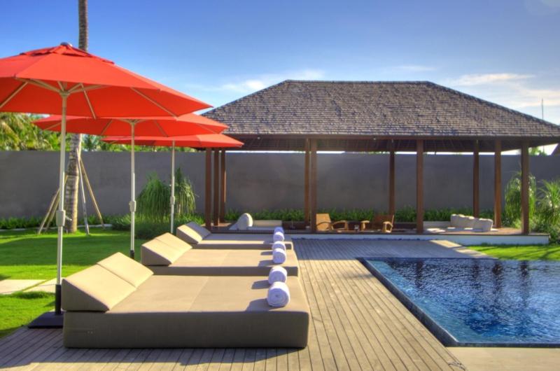 Pool Side Loungers - Villa Kalyani - Canggu, Bali