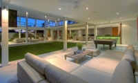 Living Area with Billiard Table - Villa Kalyani - Canggu, Bali