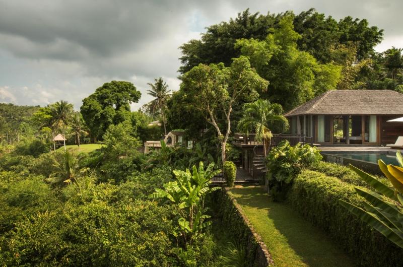 Gardens and Pool - Villa Kamaniiya - Ubud, Bali