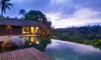Pool at Night - Villa Kamaniiya - Ubud, Bali