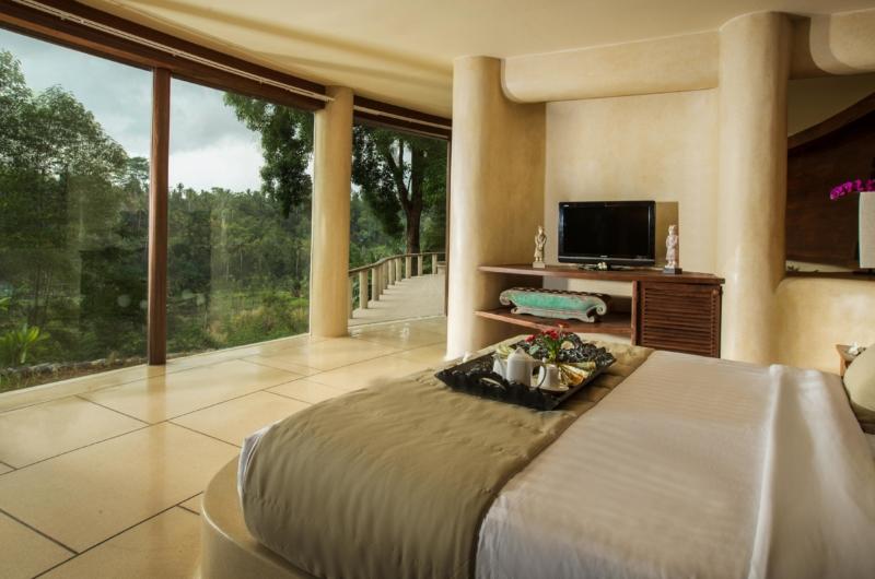Bedroom with View - Villa Kamaniiya - Ubud, Bali
