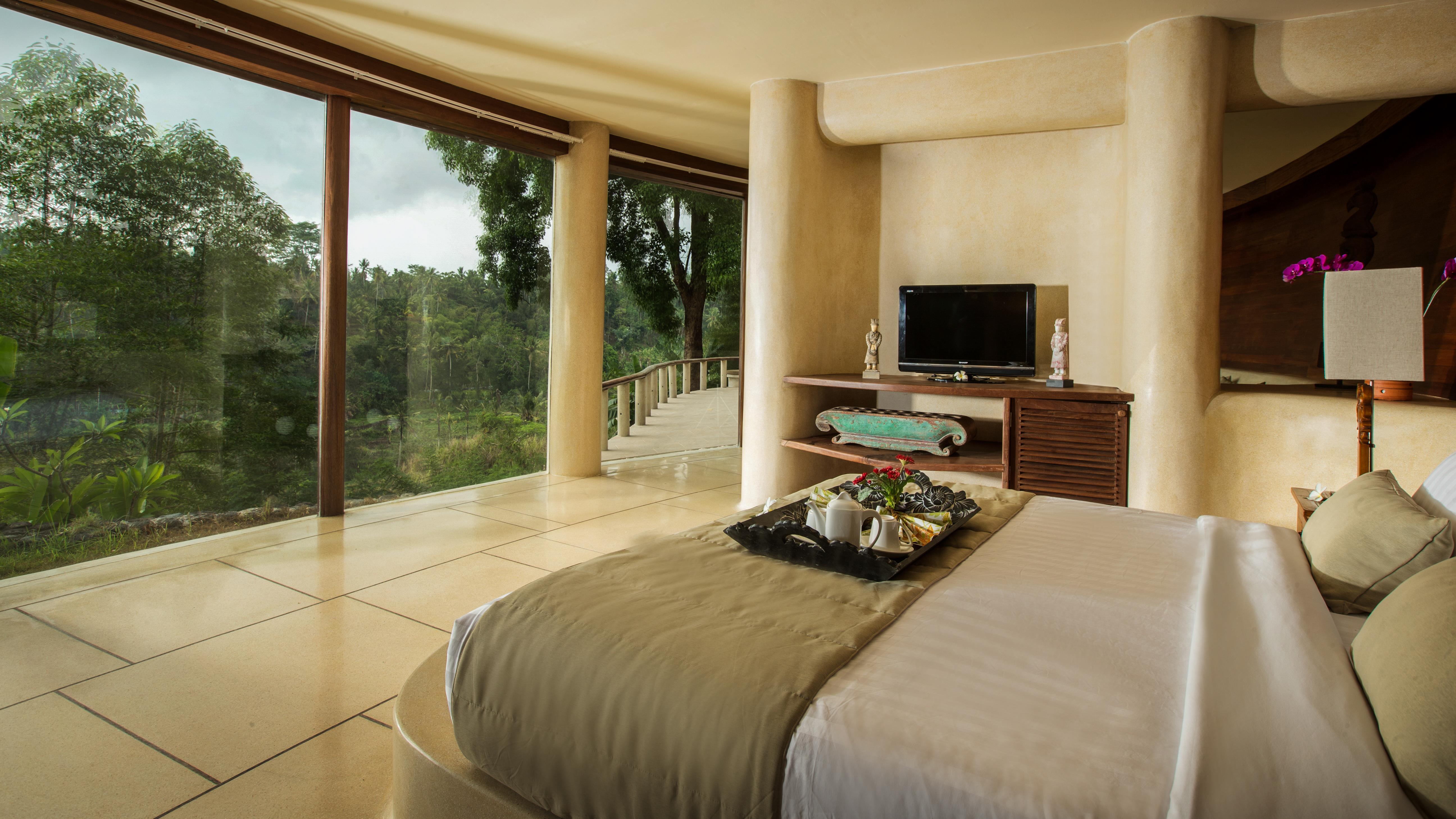 Up Stairs Bedroom - Villa Kamaniiya - Ubud, Bali
