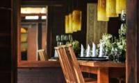 Dining Area - Villa Kamaniiya - Ubud, Bali