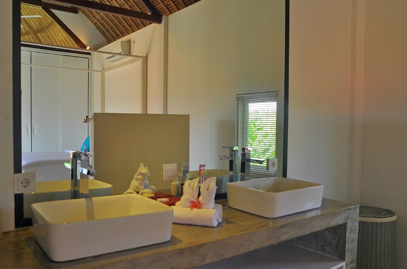 His and Hers Bathroom - Villa Kami - Canggu, Bali