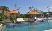 Reclining Sun Loungers - Villa Kami - Canggu, Bali