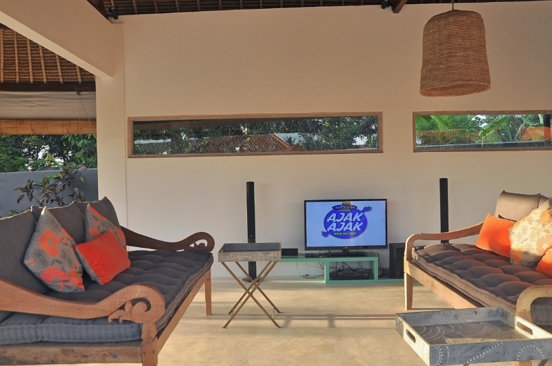 Lounge Area with TV - Villa Kami - Canggu, Bali