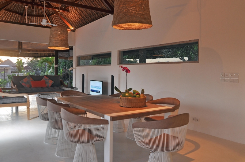 Living and Dining Area - Villa Kami - Canggu, Bali
