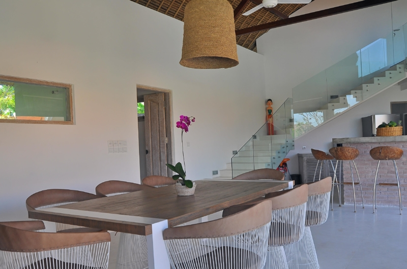 Dining Area with Up Stairs - Villa Kami - Canggu, Bali