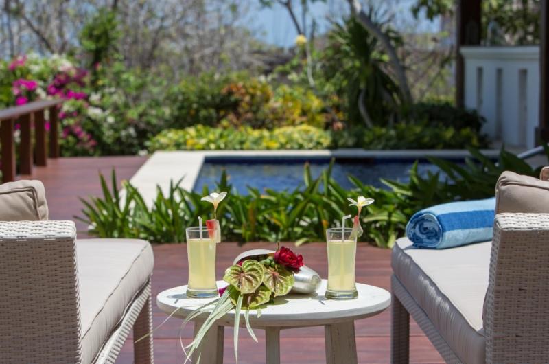 Pool Side Loungers - Villa Karang Dua - Uluwatu, Bali