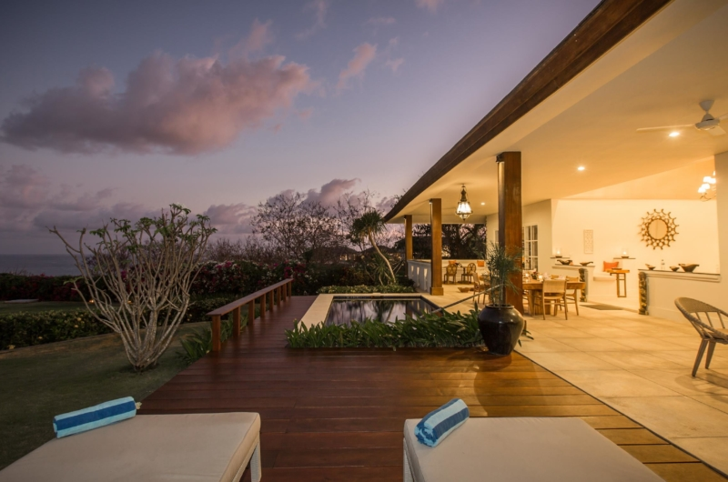 Pool at Night - Villa Karang Dua - Uluwatu, Bali