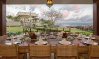 Dining Area with Sea View - Villa Karang Dua - Uluwatu, Bali