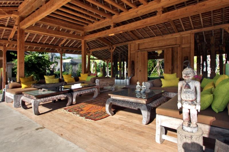 Indoor Living Area - Villa Kayu - Umalas, Bali